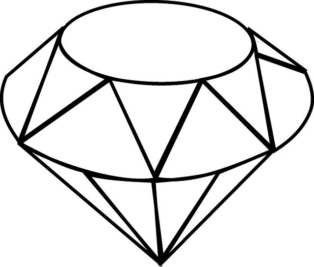 Diamonds clipart sketch. Free image on pixabay