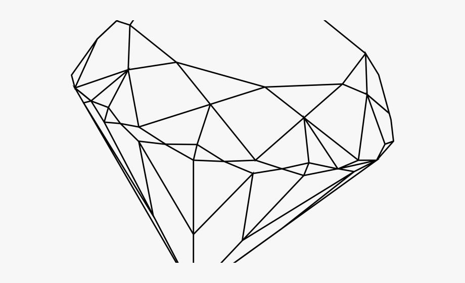 Diamond illustration line drawing. Diamonds clipart sketch