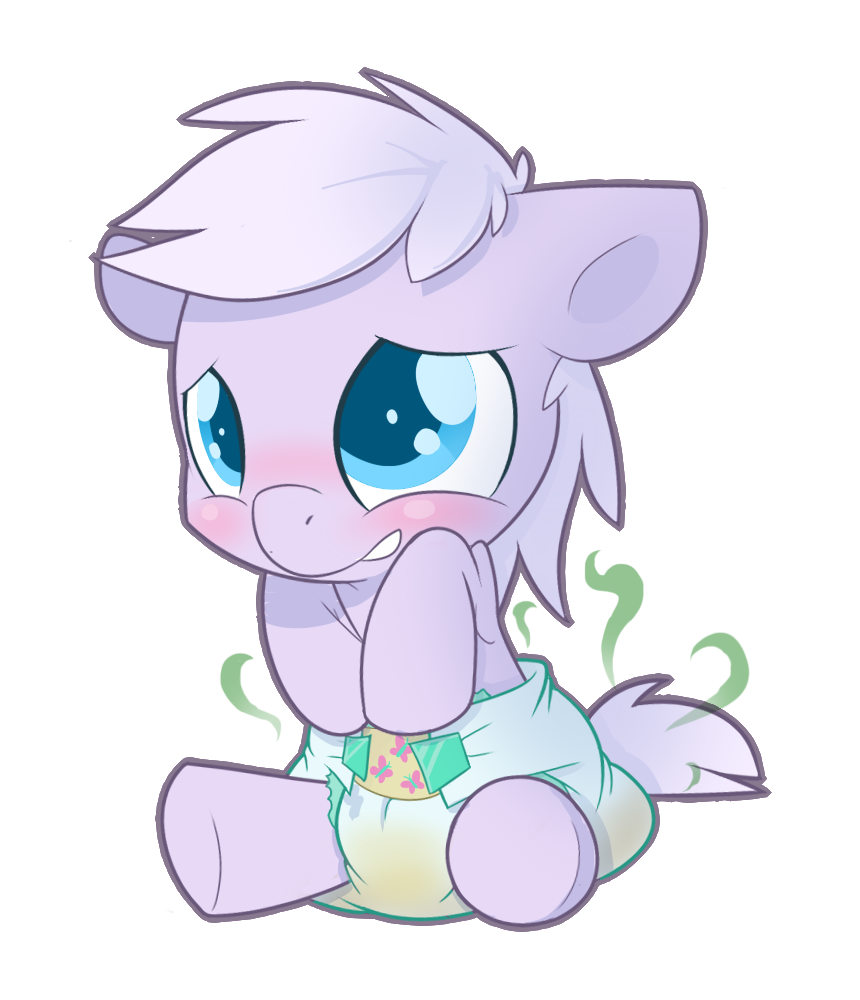 artist cuddlehooves baby. Purple clipart diaper
