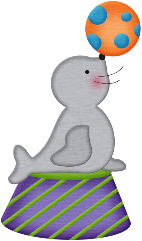 Diaper clipart baby album. Aw circus seal png