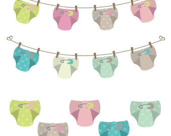 Diaper clipart banner. Free cloth cliparts download