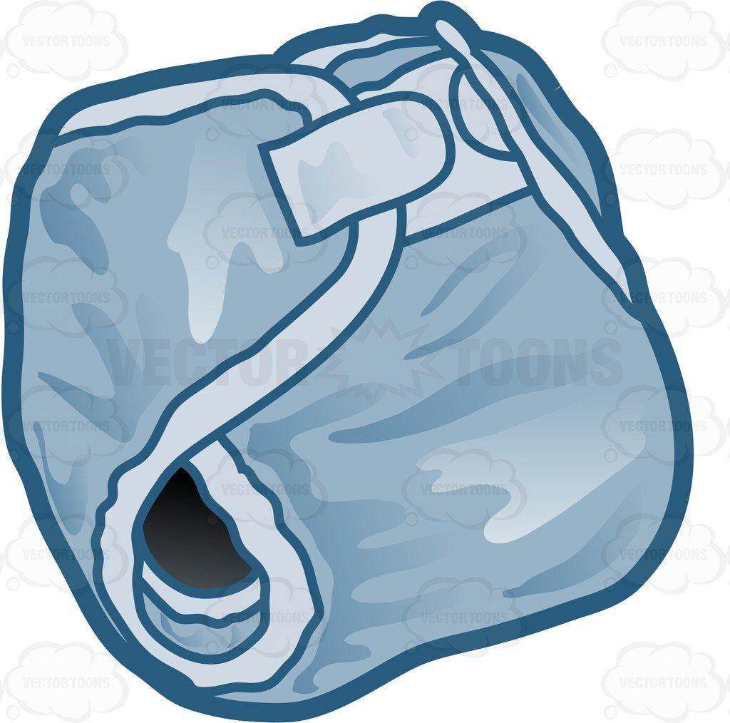 A blue absorbent babies. Diaper clipart cloth diaper