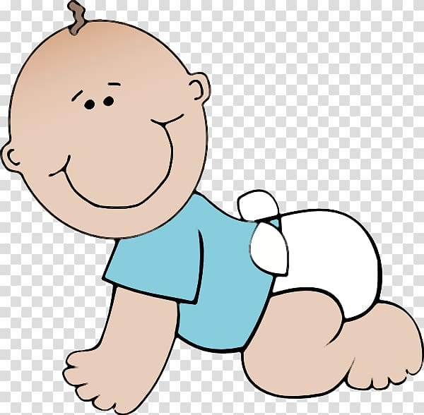Infant baby shower cute. Diaper clipart crawling