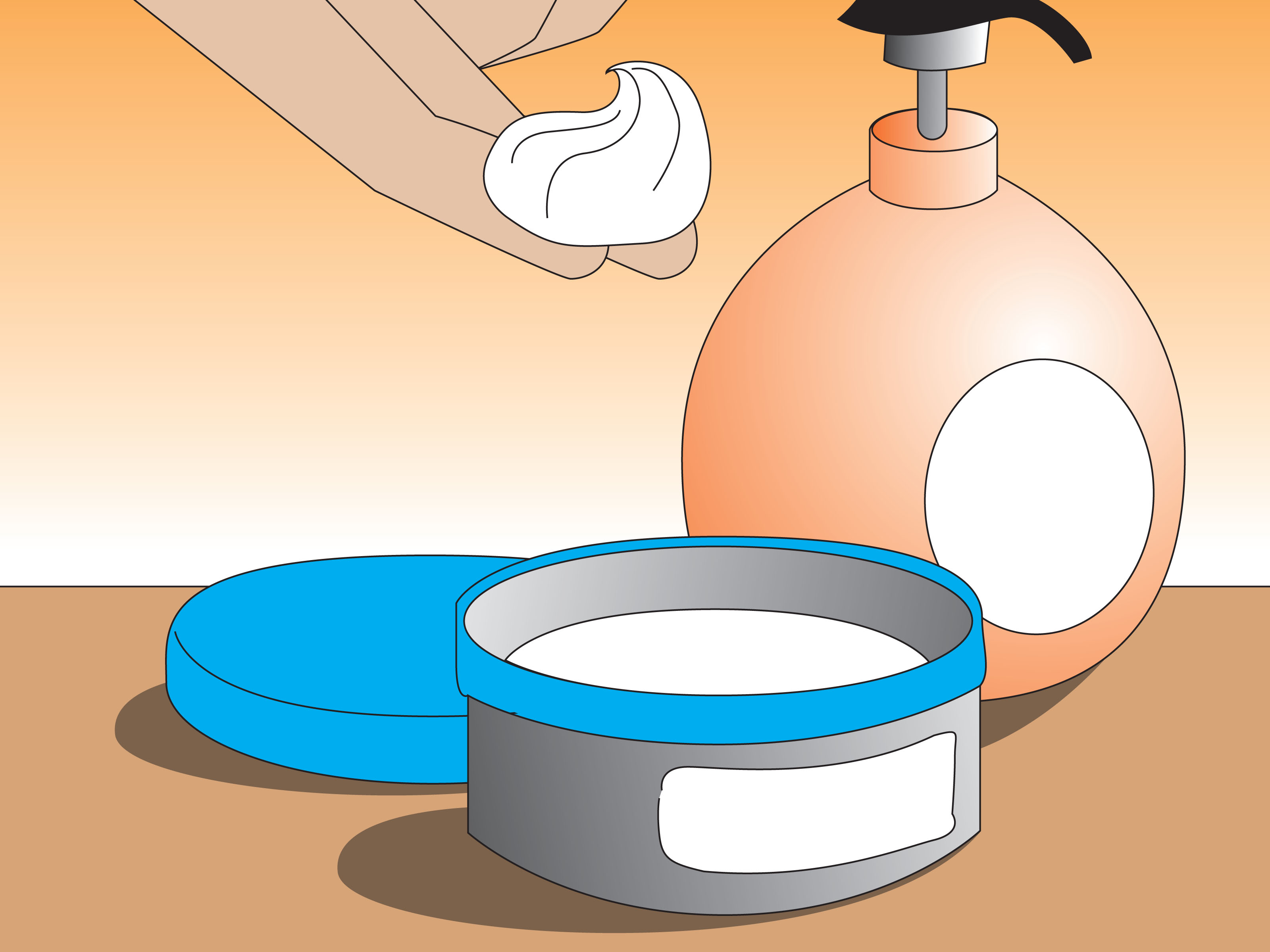 Diapers clipart cream. How to treat diaper
