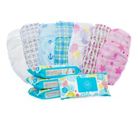 Diapers and kid clipartix. Diaper clipart diaper wipes