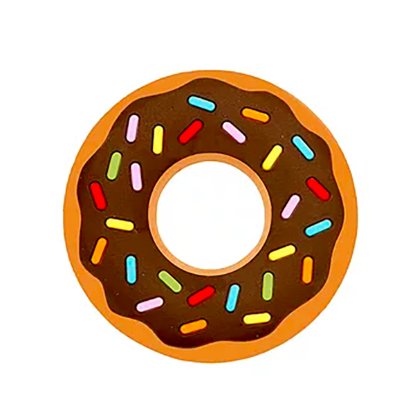 Donut clipart cart. Silli chews teethers