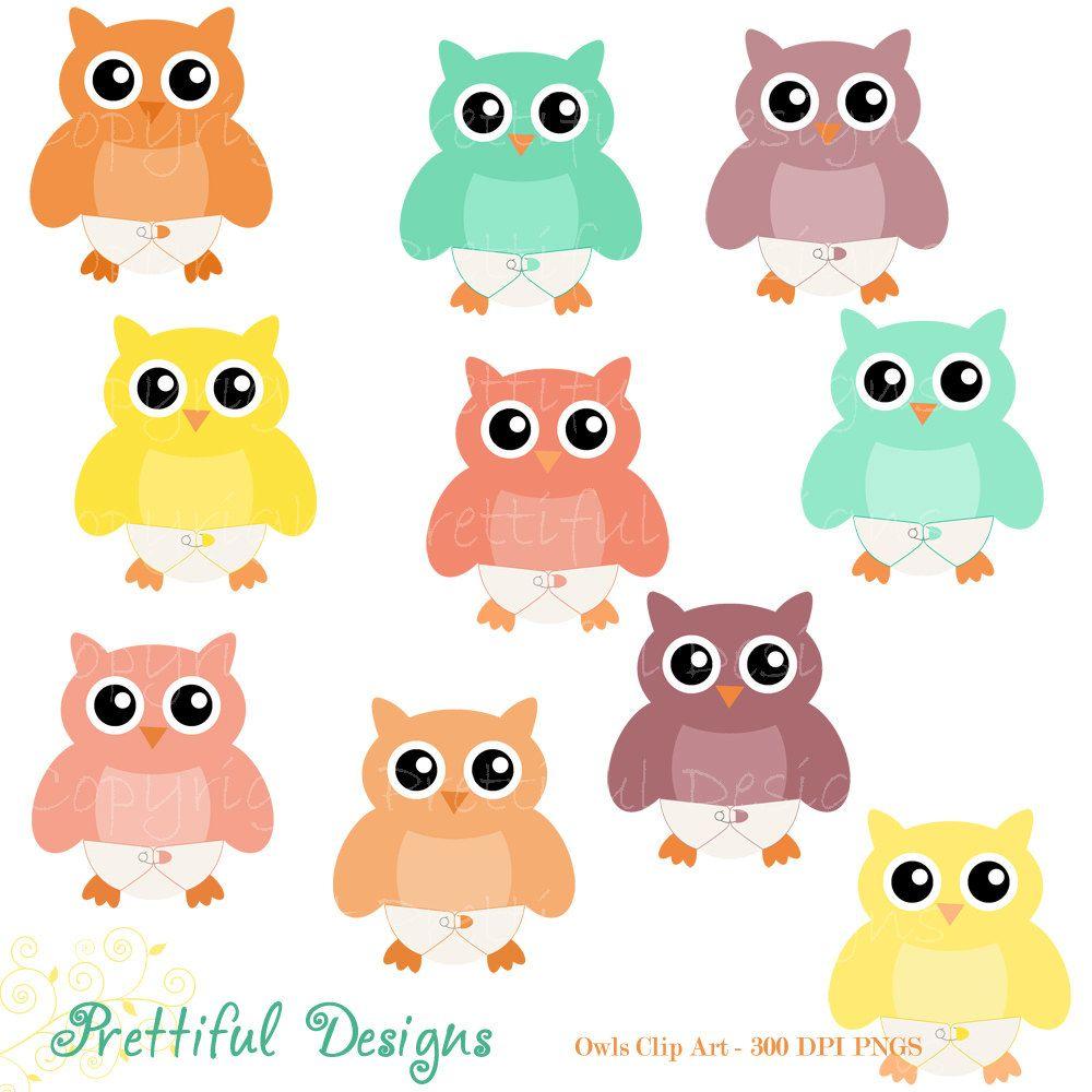 Baby owl clip art. Diaper clipart family