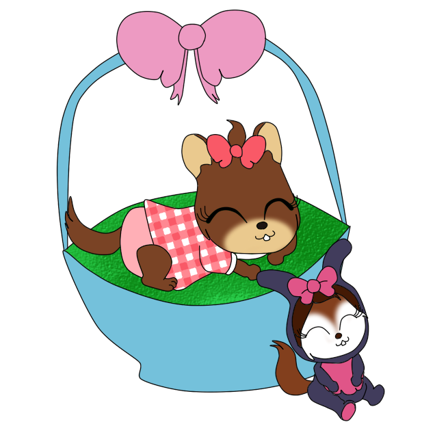 Commissions are open prices. Diaper clipart immature