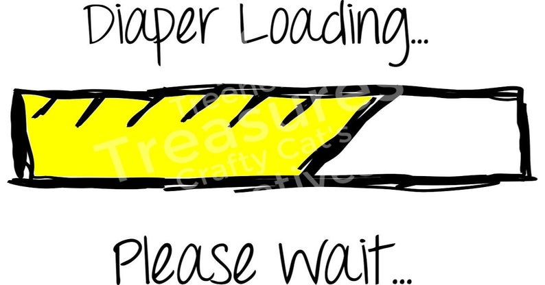 Diapers clipart loading. Infant onsie diaper please
