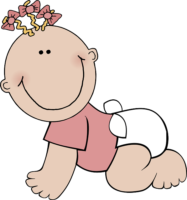 Ladybug clipart baby girl. Free image on pixabay