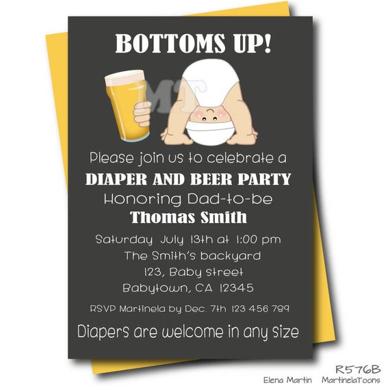 Diapers clipart beer. And diaper baby shower