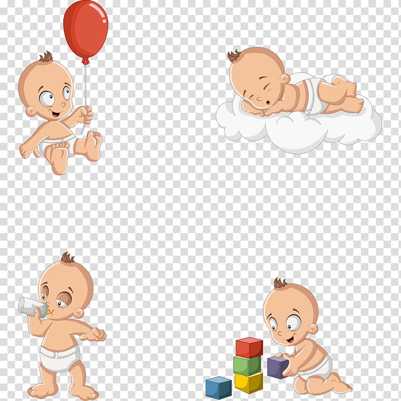 Infant clipart infant toddler. Baby illustration diaper boy
