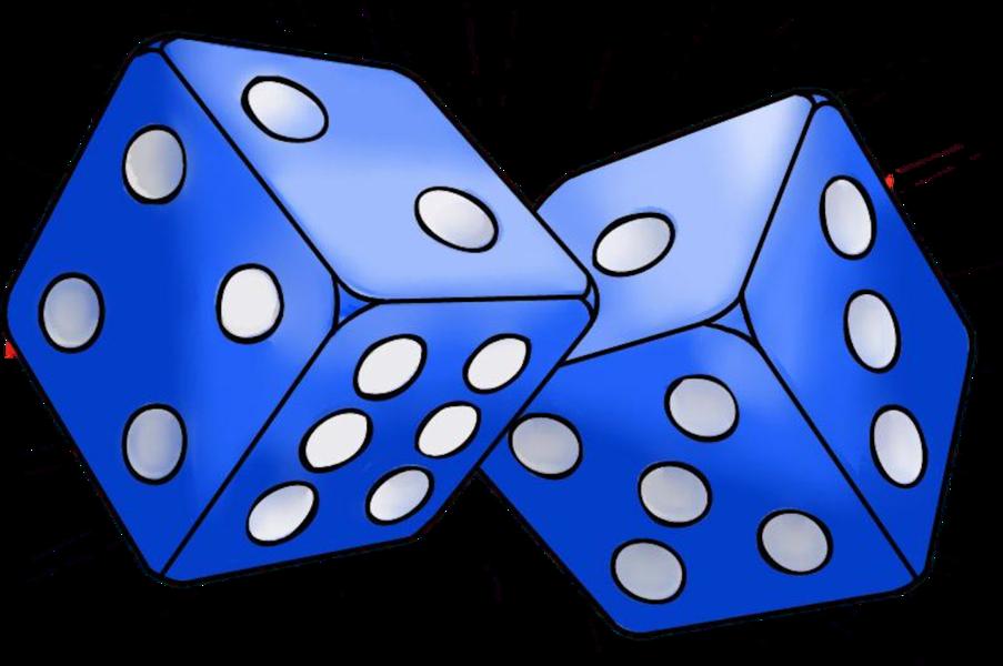 Dice blue dice