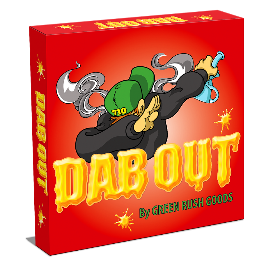 Dab out. Games clipart board game