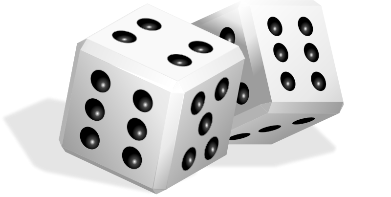 Game clipart board game. Dice free to use
