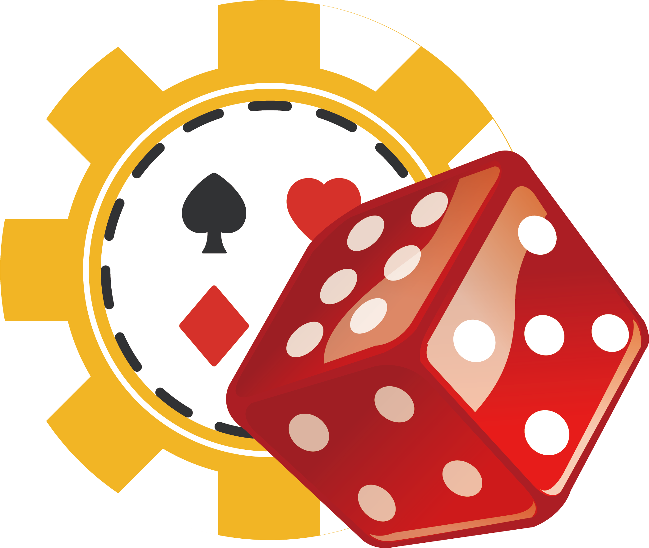 Icon nice transprent png. Dice clipart casino dice