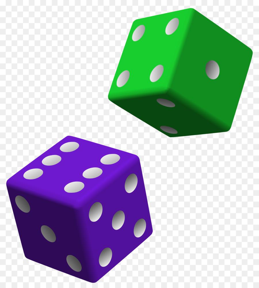 Clip art bunco . Dice clipart colored dice