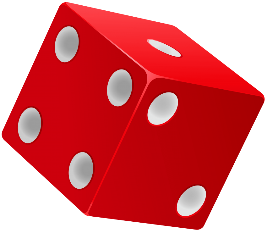Stamp clipart warning. Red dice png free