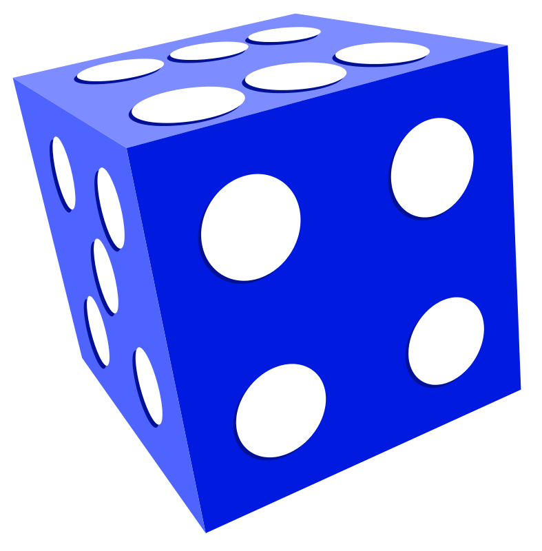 panda free images. Number 1 clipart dice
