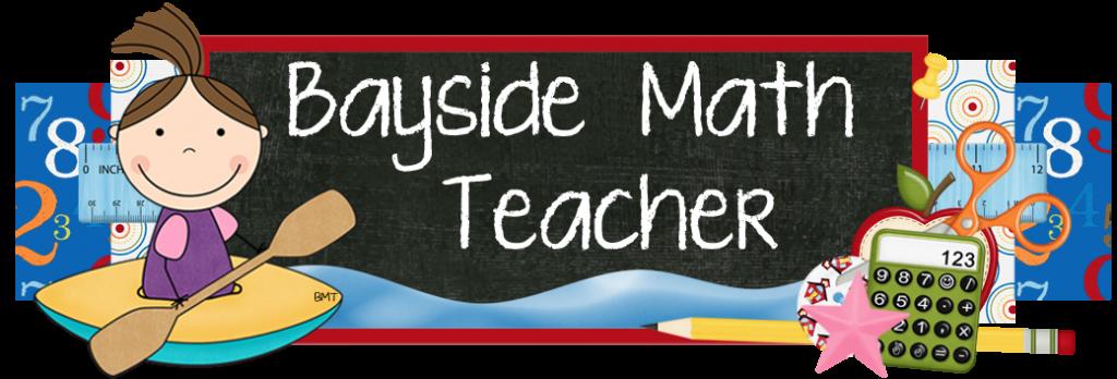 Fraction clipart first quarter. Bayside math teacher new
