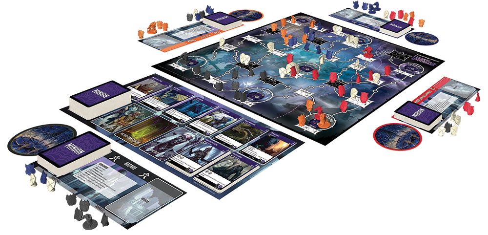 Tyrants of the underdark. Games clipart tabletop game