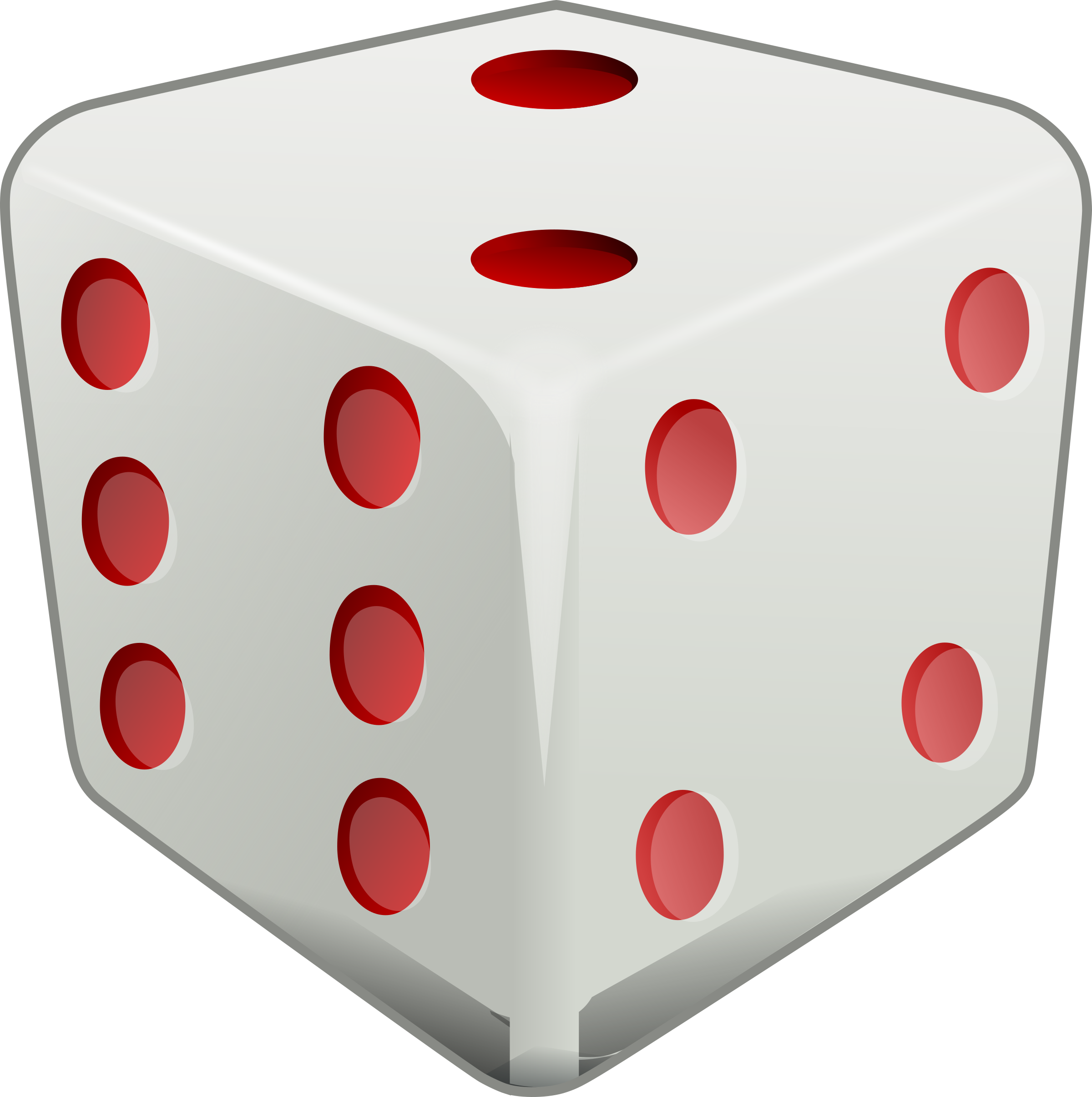 Gaming clipart roll dice. With two on top