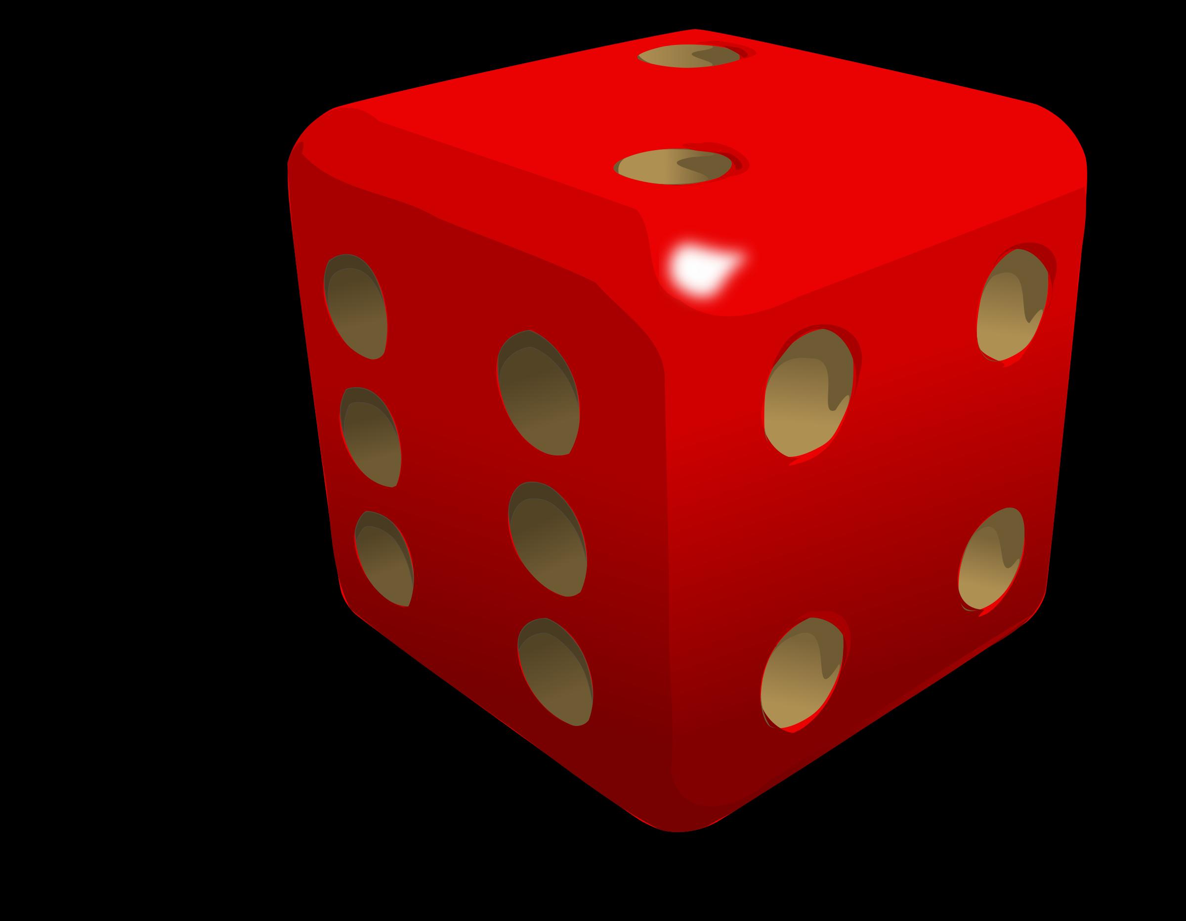 Dado big image png. Play clipart dice game