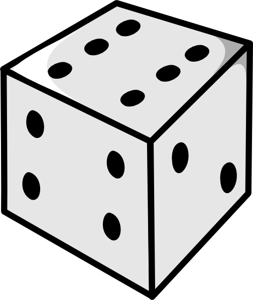 Dice clipart free printable. Download clip art