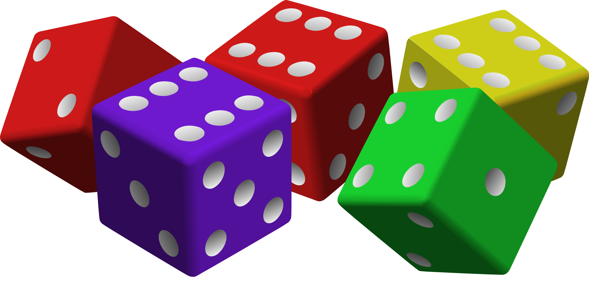 collection of high. Dice clipart fuzzy dice