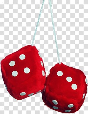 Transparent background png cliparts. Dice clipart fuzzy dice