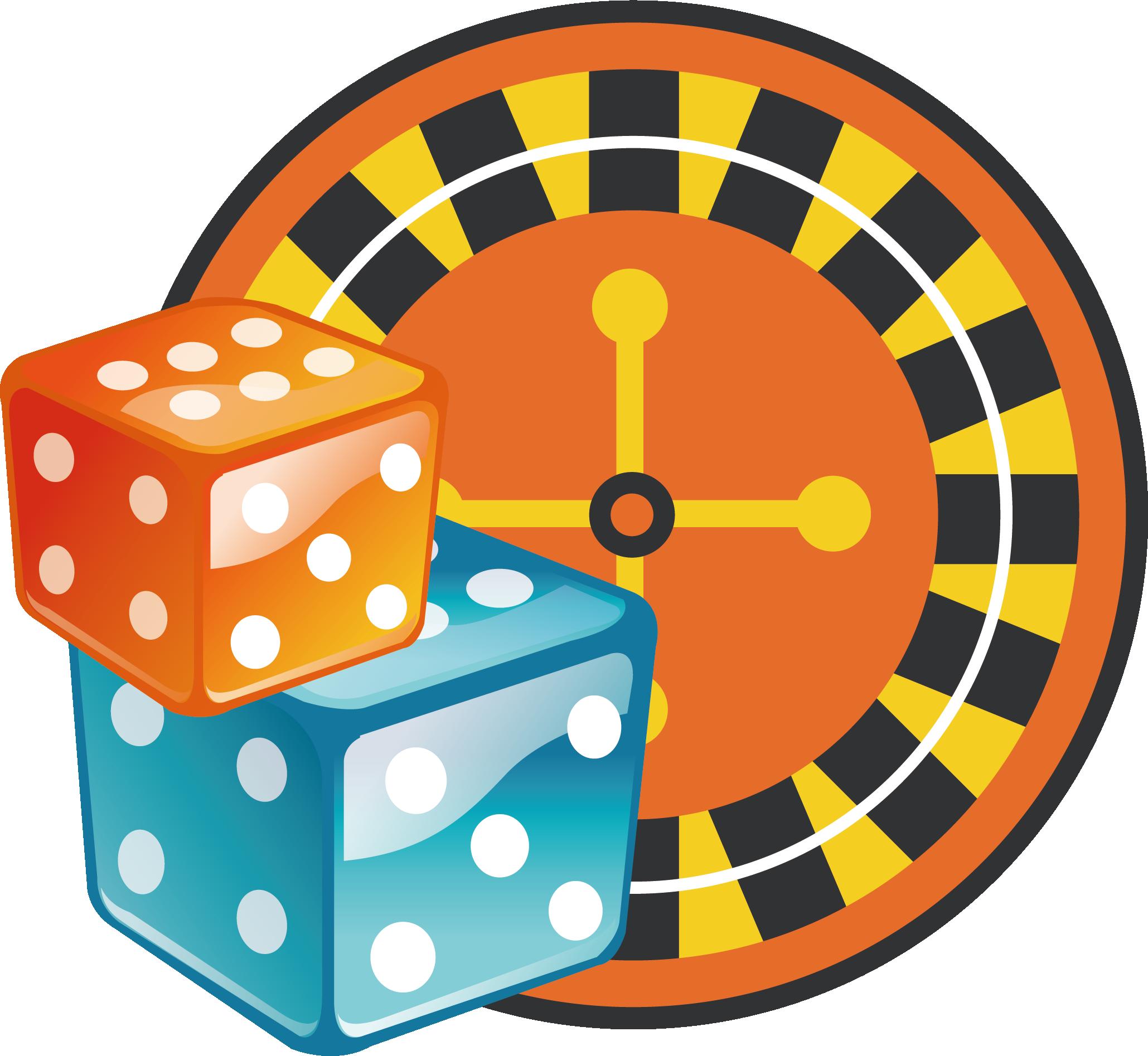 Dice clipart gamble. Roulette casino gambling icon