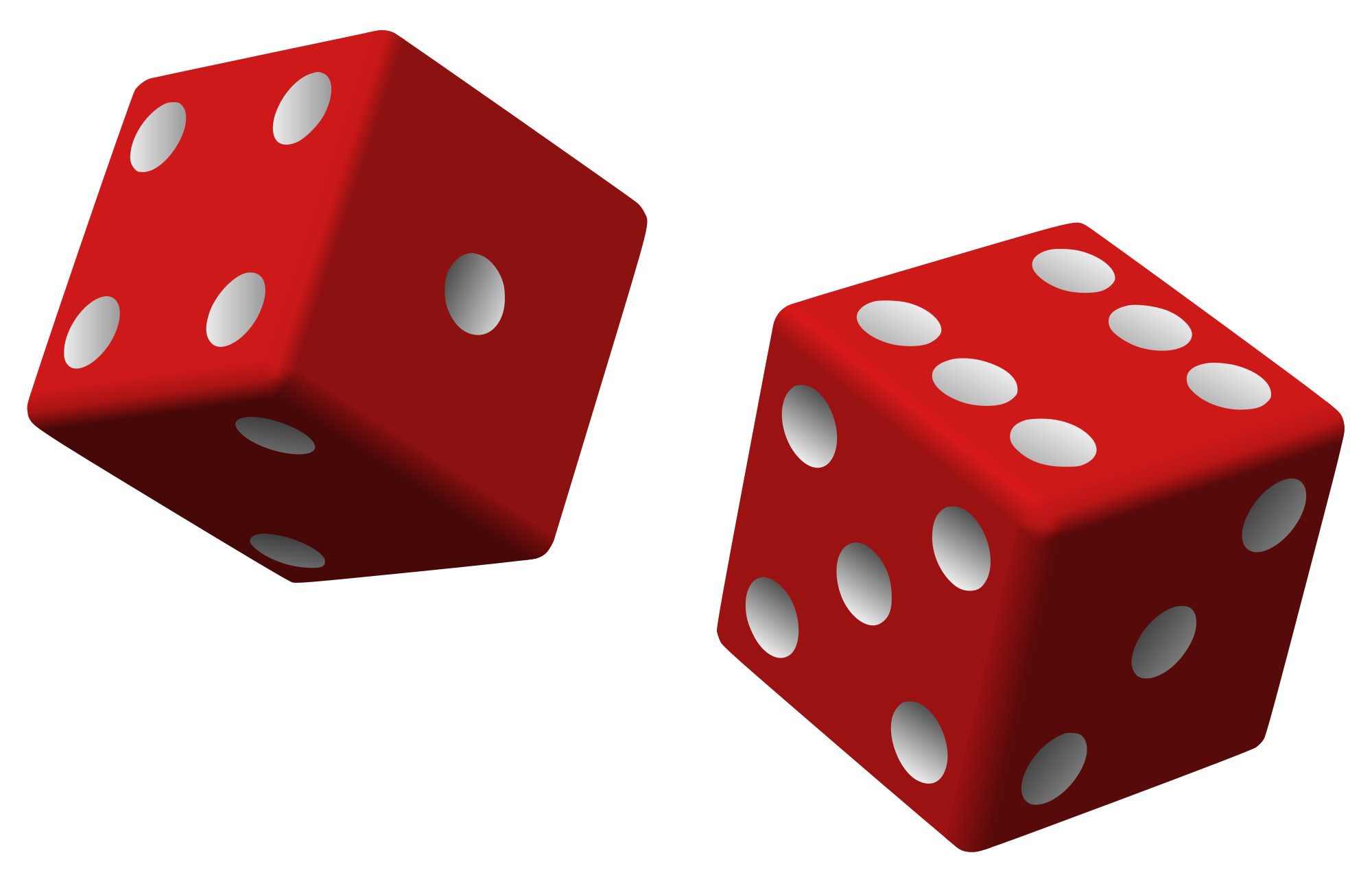 Images of dice group. Square clipart tri