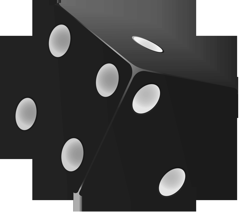 Games clipart clip art. Black dice png best