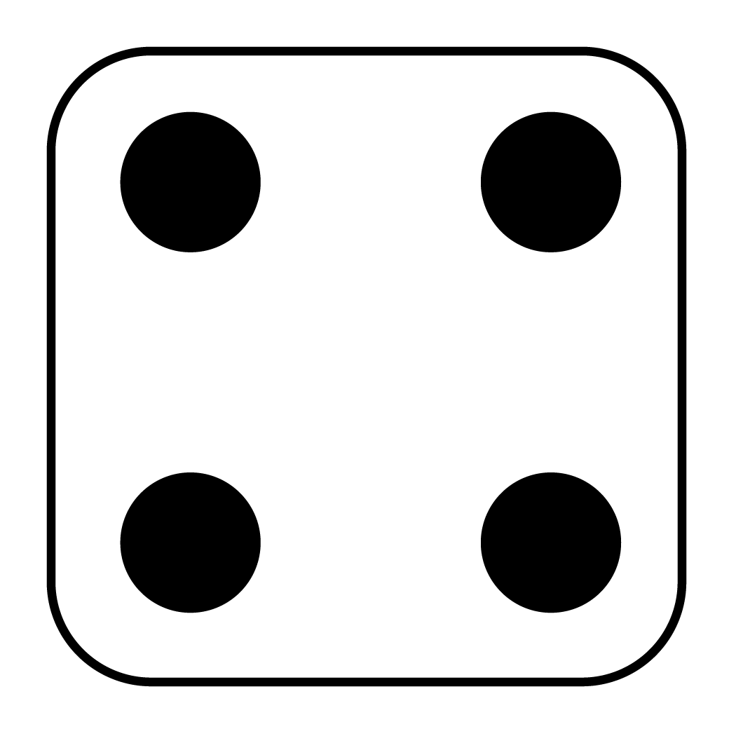 collection of high. Number 1 clipart dice