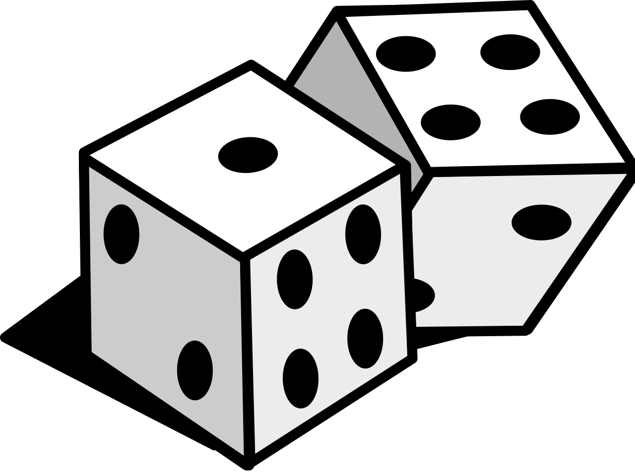 File svg wikimedia commons. Dice clipart line art