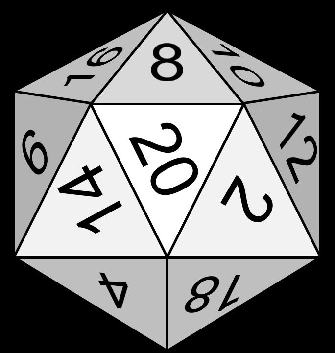 Dice clipart line art. Icosahedron explore pictures