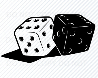 Rolling etsy . Dice clipart ludu