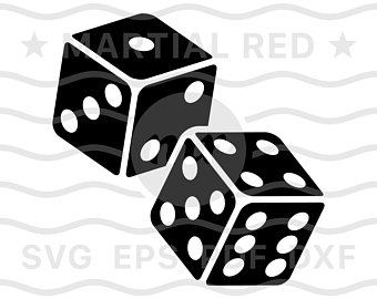 Dice clipart ludu. Gambling etsy