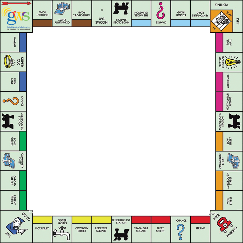 Game clipart monopoly board. Relay template google search