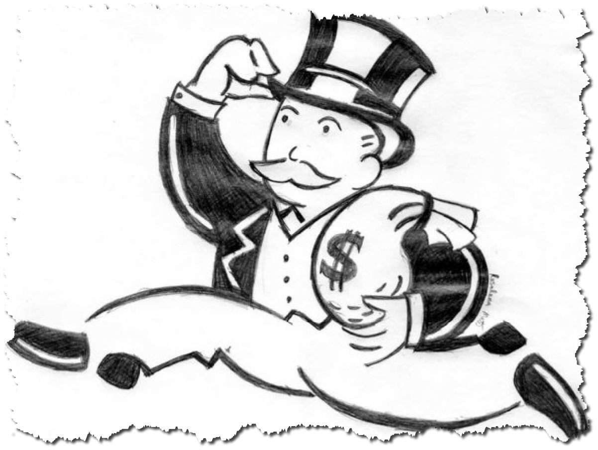 dollar clipart monopoly