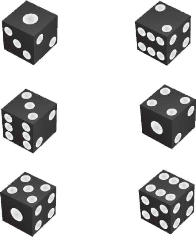 collection of number. Game clipart black and white