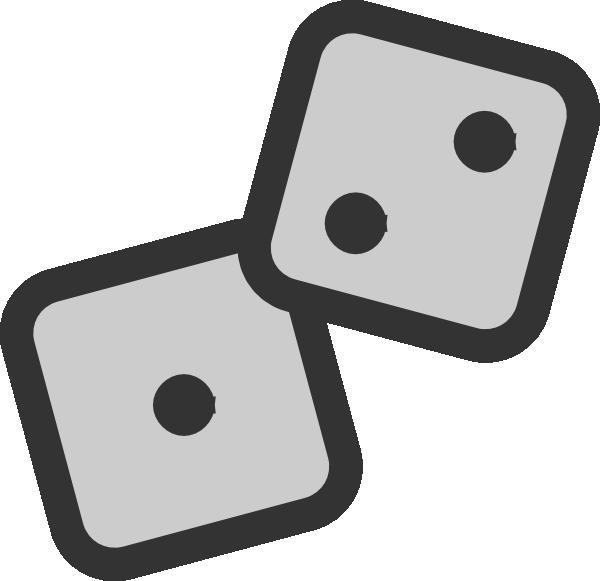 Dice clipart public domain. Clip art at clker
