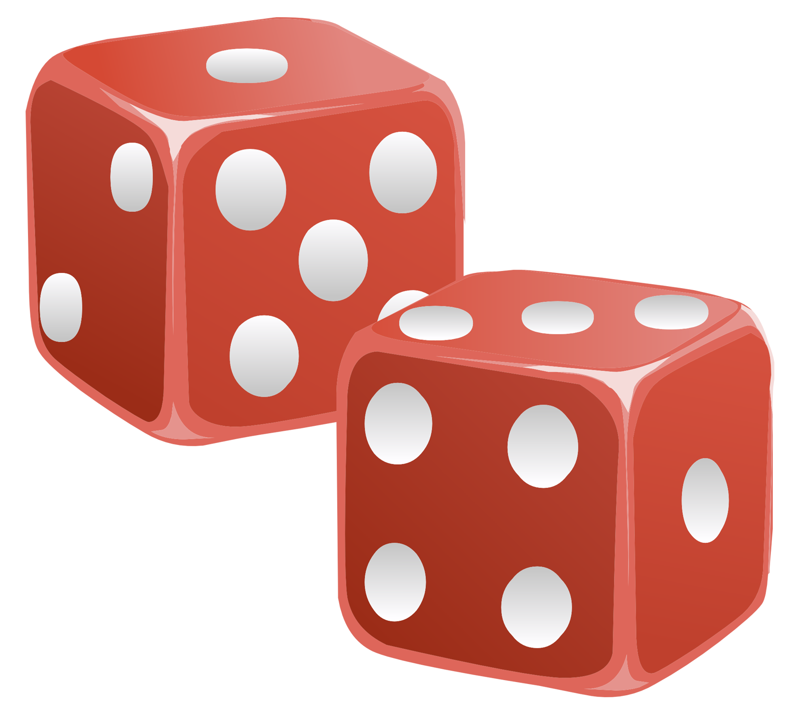 Red dice png image. Games clipart transparent