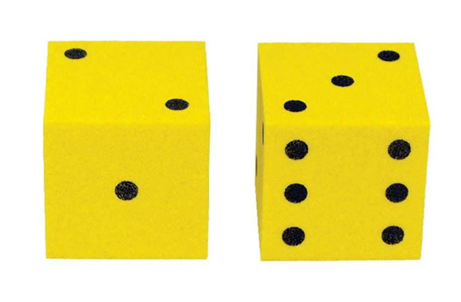 Dice clipart yellow dice. X free clip art