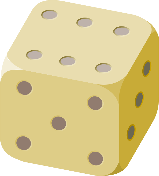 Medium image png . Dice clipart yellow dice