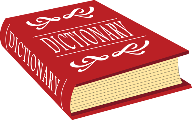 . Dictionary clipart