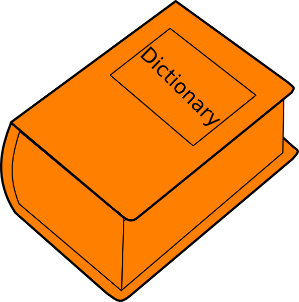 Dictionary clipart. Clip art at clker
