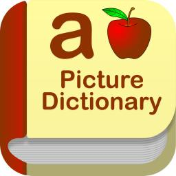 Dictionary clipart a to z. Kids picture educational app