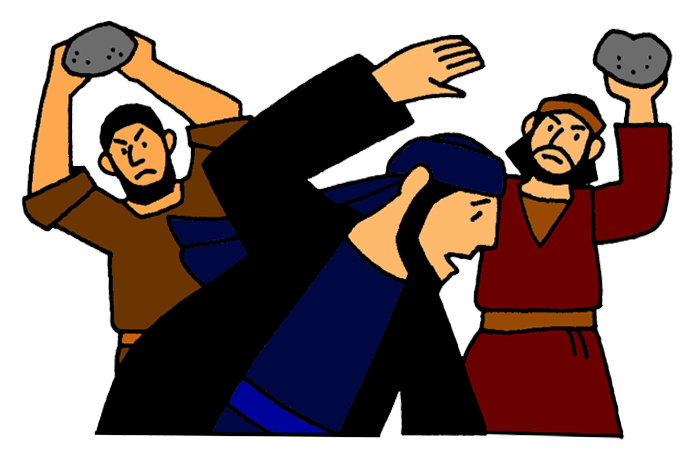 Stoning of stephen mission. Missionary clipart acts the apostle