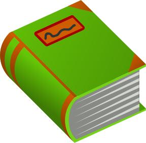 Dictionary clipart big book. Free books panda images